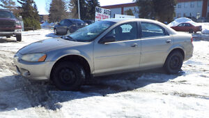 02 Sebring - auto - A/C - NEWER TIRES - ONLY 176,000KMS