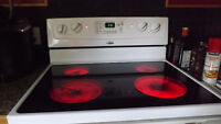 """30"""" Whirlpool glass top stove/oven"""