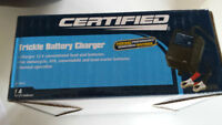 Certified TRICKLE BATTERY CHARGER....new
