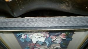 VINTAGE BEAUTIFUL 3D HAND CAST PAPER ART FLORAL SHADOW BOX Kitchener / Waterloo Kitchener Area image 7