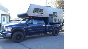 campeur, vr, camping,  voyage, roulotte, camion, overland