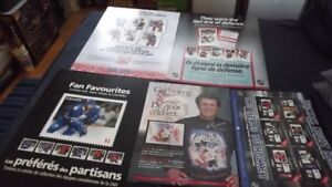 6 NHL CANADA POST  PROMO POSTERBOARDS PACKAGE DEAL