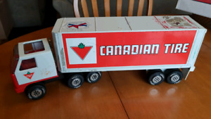 Pressed steel Canadian Tire truck