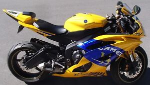2008 Yamaha YZF-R6 50TH Anniversary Camel Colours