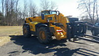 JCB 550-140 Telescopic Handler with swing carriage & truss boom