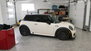 2013 Mini Cooper S, JCW package.  Low km and very clean