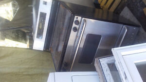 Various kitchen and laundry appliances