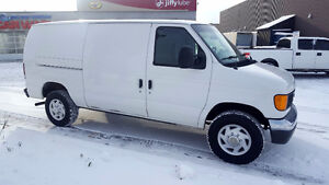 2007 Ford E-250 Cargo Van Mint! Certified E-tested