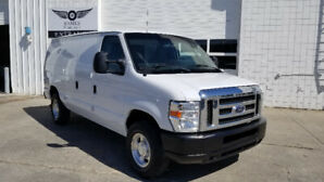 2012 FORD E-250 CARGO VAN WITH SHELVES ONLY 101K!