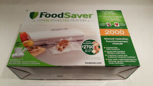Food Saver 200 Series Vacuum Sealing System $40
