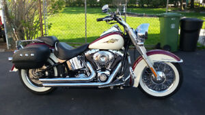 2007 Harley Davidson Softail Deluxe with Factory Custom Paint