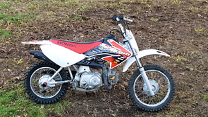 Honda crf 70 like new with ownership