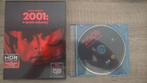 2001 Space Odyssey Bluray + Collectible booklet & Pictures