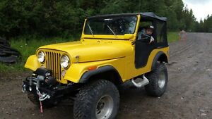 1974 Jeep CJ frame off resto Rare