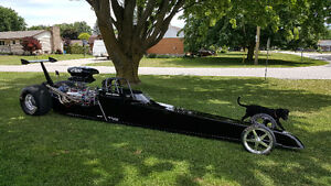 Completely re-built 2006 Dragster