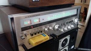 Ampli vintage + speakers vintage