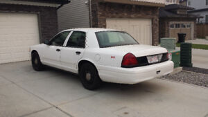 2011 Ford Crown Victoria Interceptor City of Calgary ex Police