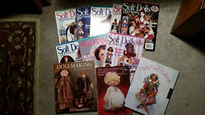 SOFT DOLL BOOKS AND MAGAZINES London Ontario image 1