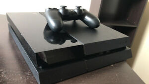 PS4 with remote control