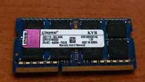 Laptop Kingston DDR3 4GB