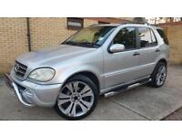 Mercedes-Benz ML270 2.7TD auto CDI low mileage 110k 7 seater SatNav