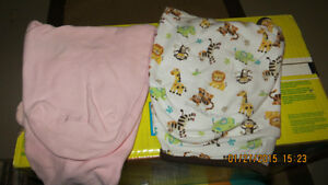 Swaddle Me Sac Pink remaining only, smoke free home