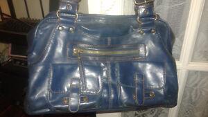 Leather Aqua Aldo Purse