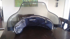 Polaris Indy windshield and bag
