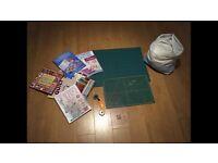 Patchwork kit, matrix cutting boards etc
