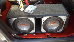 2 alpine type r 12s in ported box