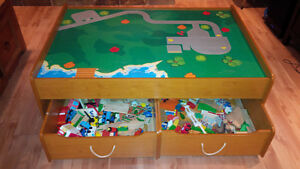 Thomas Train Table, with trains and tracks