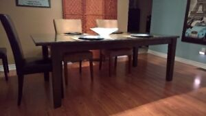 Ikea Stornas Dining Table and Chairs