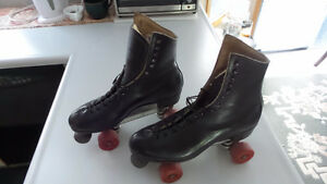 Men's Vintage Riedell size 11 Leather Roller Skates