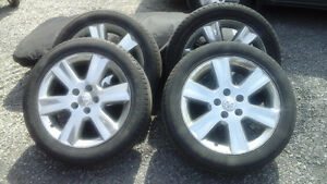 19 inch Chrome Wheels and Tires