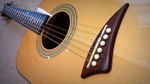 Dean Acoustic Electric Guitar - $225