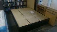 (Monthly Special) ----------- Platform Bed Q- Delivery Available
