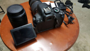 Canon t4i with 2 lenses