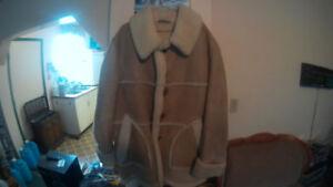 Vintage,Oldschool quality,Like new,Shearling Sheepskin Jacket