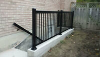 Aluminum Railings & Columns - All Year Round Installation