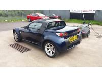 2005 05 SMART CAR ROADSTER 698CC TURBO.FANTASTIC EXAMPLE.BLUE AND BLACK..MOT2018