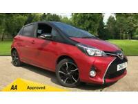 2016 Toyota Yaris 1.33 VVT-i Design 5dr Manual Petrol Hatchback