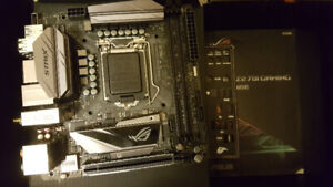 Asus Gigabyte MSI ECS Z270 LGA 1151 motherboard with warranty