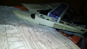 remote control airplane (sea lane model for water)