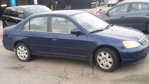 Honda civic 2002 for sale 1300$ only (negotiable )