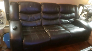 Free couch; just come pick it up!
