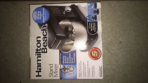 Selling brand new Hamilton Beach Stand Up mixer