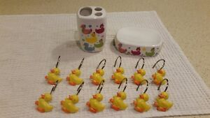 Duck Themed Bathroom Items