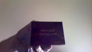 New gold plated collector cards