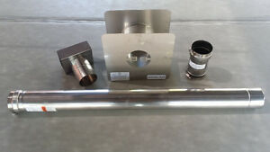 "3"" Stainless Horizontal Vent Kit for Modine Hot Dawg Heaters"
