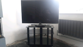 Samsung 3d 40inch tv and stand